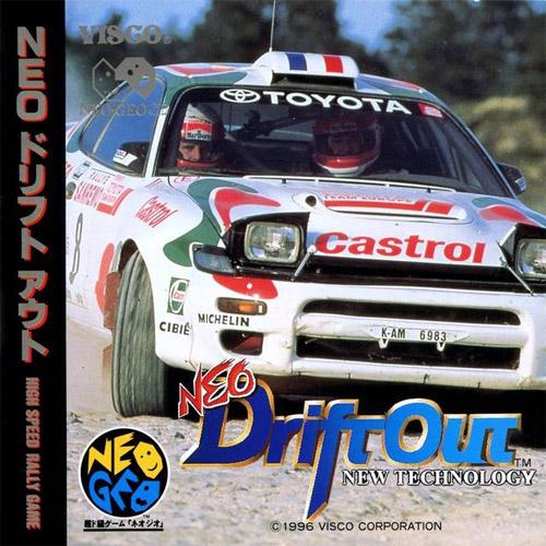 Neo Driftout Neo Geo CD