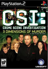 CSI: 3 Dimentions of Murder