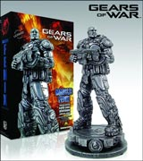 Gears of War: Marcus Fenix Cold Cast Platinum Statue
