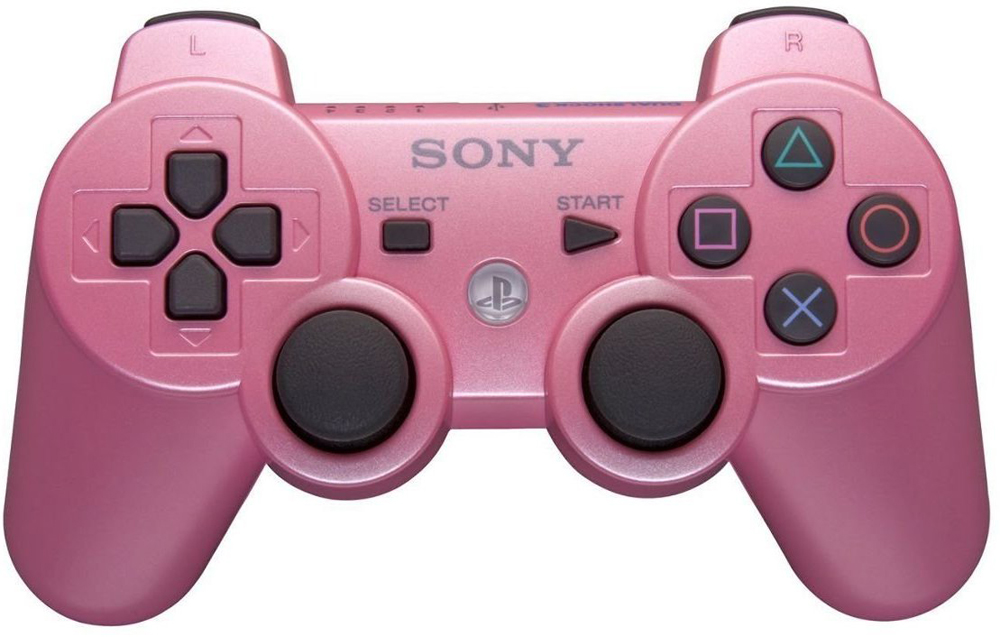 Playstation 3 DualShock 3 Controller Candy Pink Sony