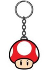 Nintendo Power-Up Red Mushroom Keychain