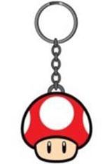 Nintendo Power-Up Red Mushroom Keychain
