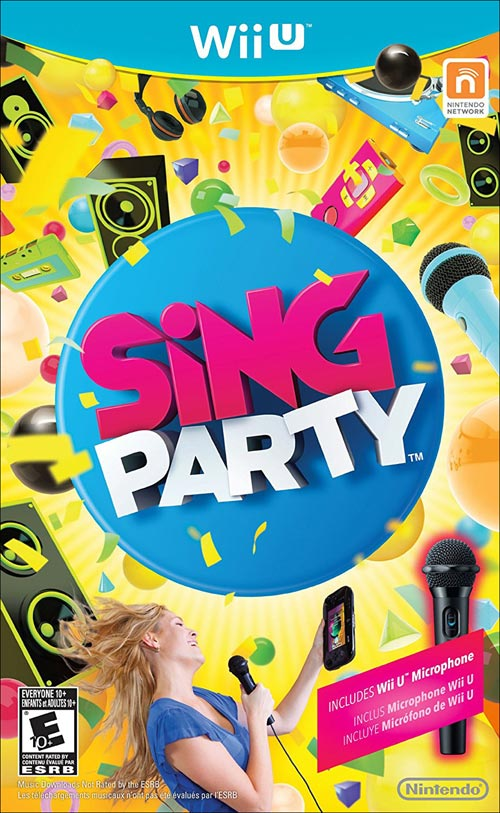 SiNG Party with Wii U Microphone