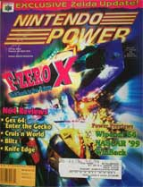 Nintendo Power Volume 112 F-Zero X