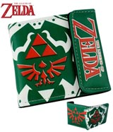 Legend of Zelda Red Triforce Logo Wallet
