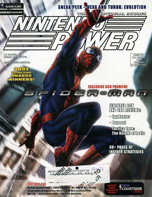 Nintendo Power Volume 156 Spider Man