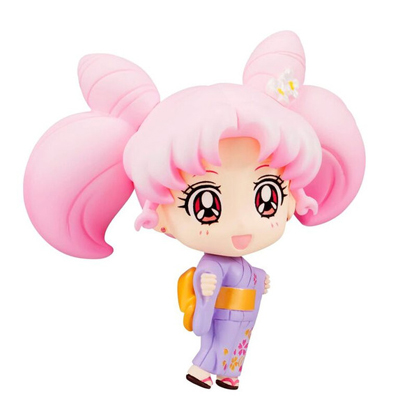 Sailor Moon Petit Chara Chibi Usagi Yukata Version 2 Inch Figure