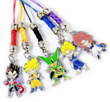 Dragon Ball Z Multi Character Charms