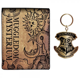 Harry Potter Wallet and Keychain Gift Set