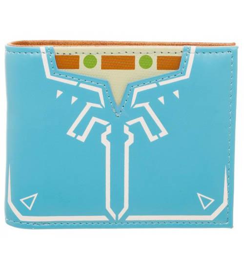 Legend of Zelda Breath Of The Wild Leather Bi-Fold Wallet