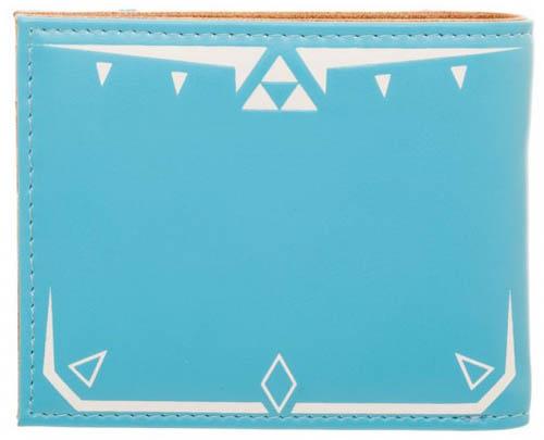 Zelda Breath Of The Wild Leather Bi Fold Wallet Back