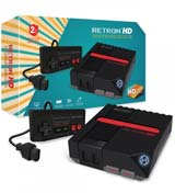 RetroN 1 HD NES Gaming Console Black