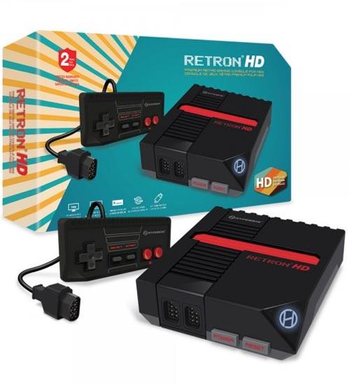 RetroN HD NES Gaming Console Black