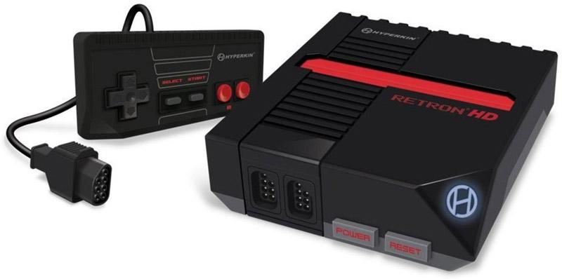 RetroN 1 HD NES Gaming Console Black