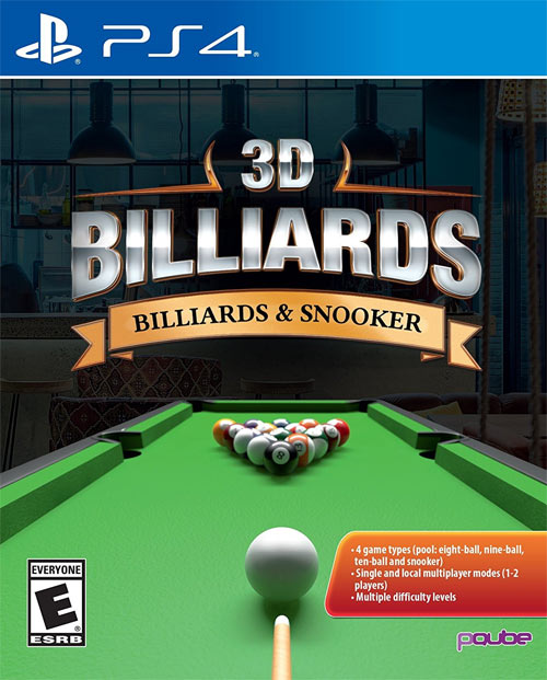 3D Billiards: Billiards and Snooker