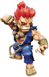 Street Fighter: The New Challenger Akuma Figure with Lights & Sounds