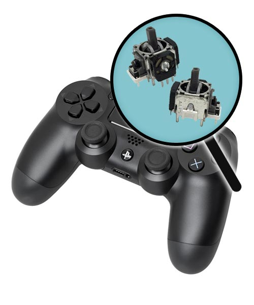 PlayStation 4 Repairs: Controller Analog Joysticks Replacement Service