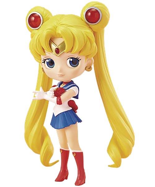 Sailor Moon Pretty Guardian: Q-Posket Sailor Moon Figure