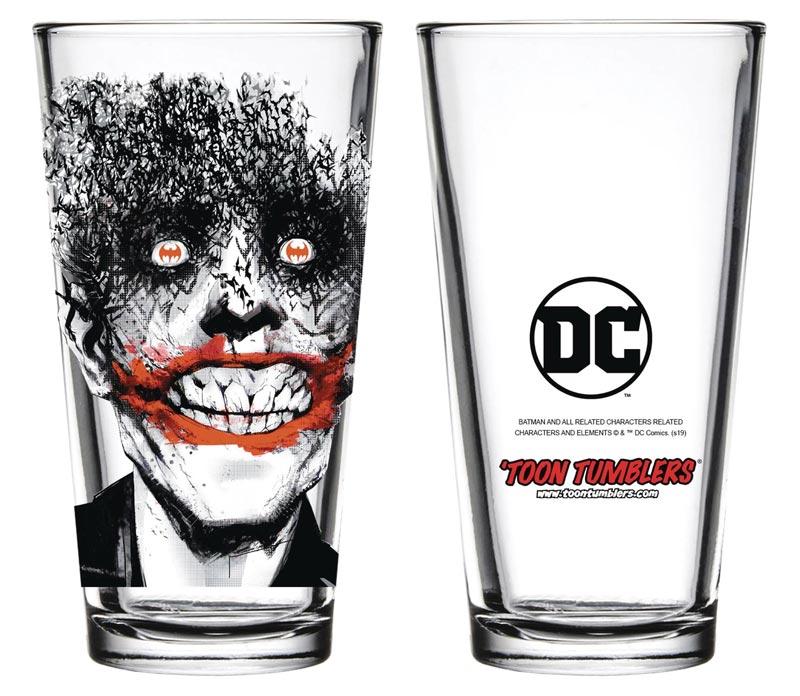 DC Comics Batman Joker Bats Toon Tumblers Glass additional shot