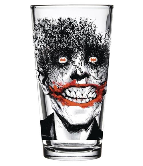 DC Comics Batman Joker Bats Toon Tumblers Glass