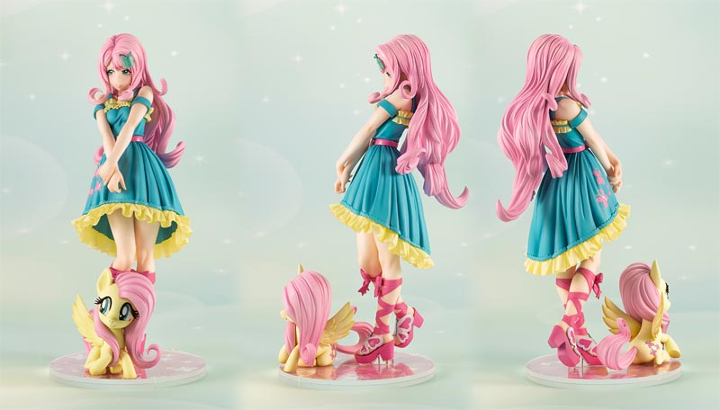 My Little Pony Fluttershy Bishoujo Statue extra angles