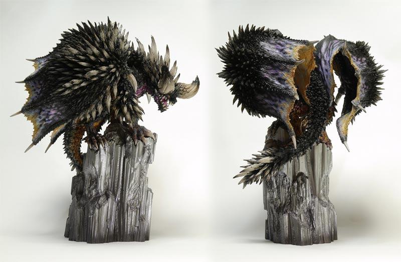 Monster Hunter Creators Model Nergigante additional angles