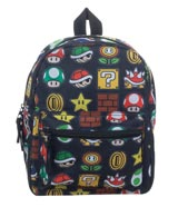 Super Mario All Over Sublimated Print Mini Backpack