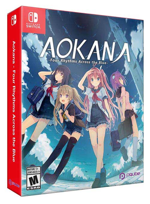 Aokana: Four Rhythms Across the Blue