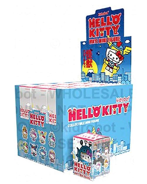 Hello Kitty Kaiju Mini Figures BMB