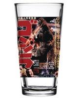 Godzilla 1954 Movie Poster Pint Glass