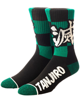 Demon Slayer Tanjiro Crew Socks
