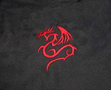 Clover Red Dragon Courier Bag