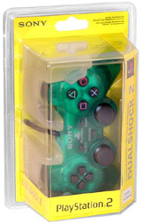 PS2 DualShock 2 Controller Emerald By Sony