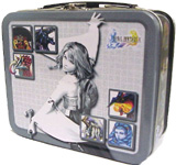 Final Fantasy X Mini Gray Yuna Lunch Box
