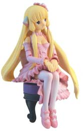 Chobits Chi in Pink Dress Action Figure