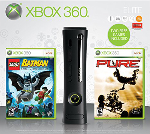 Microsoft Xbox 360 Elite Holiday 09 Bundle