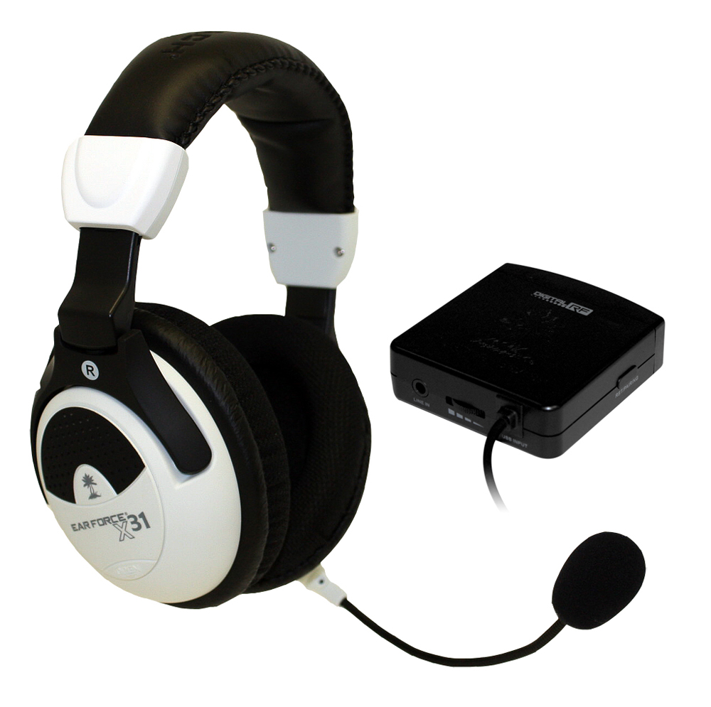 Xbox 360 Turtle Beach Ear Force X31 Gaming Headset