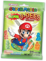 Super Mario Sour 3-DEES Gummy