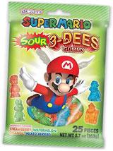 Super Mario Sour 3-DEES Gummy