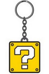 Nintendo Question Mark Block Keychain
