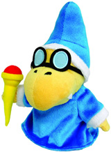 Super Mario Bros Magikoopa 7 Inch Plush