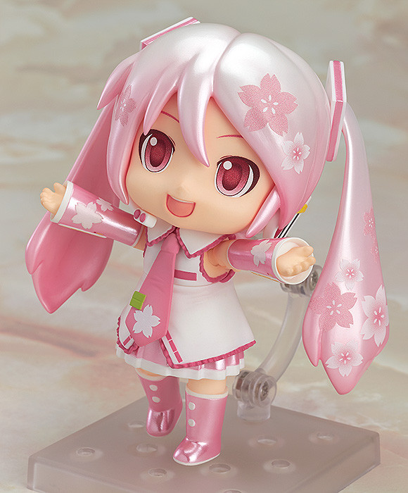 Character Vocal Series 01 Sakura Mikudayo Nendoroid arms open