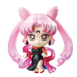 Sailor Moon Petit Chara Black Moon Version Figure Set