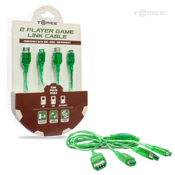 GB/GBC/GBP 2 Player Game Link Cable