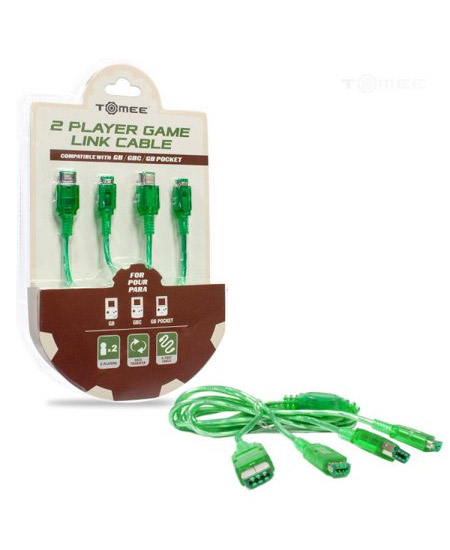 Game Boy Color 2 Player Game Link Cable