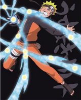 Naruto Shippuden Naruto LED Light Up Wall Canvas