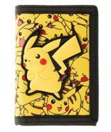 Pokemon Pikachu Velcro Tri-Fold Wallet
