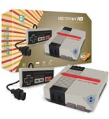 RetroN 1 HD NES Gaming Console Gray
