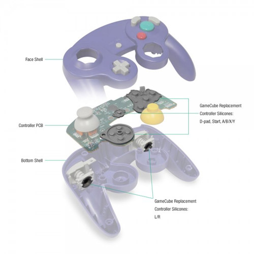 Image of Gamecube-Controller-Schematic