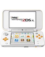 New Nintendo 2DS XL System White + Orange